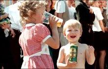детский алкоголизм