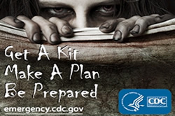 Photo: Get a Kit, Make a Plan, Be Prepared